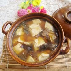 海带豆腐煲