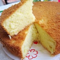 八寸海绵蛋糕