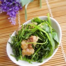 尖椒炒香菜