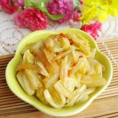 姜丝炒大白菜