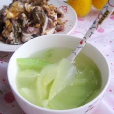 芥菜头海鱼汤