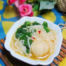 鱼丸芥菜桂林米粉