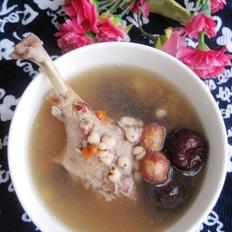薏米莲子煲鸭汤