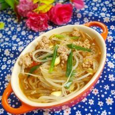 黄豆芽粉条汤煲