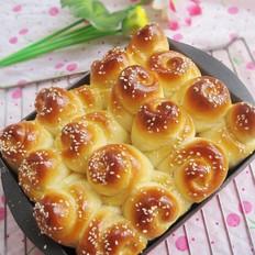 芝麻蜂蜜小面包