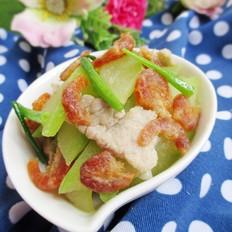 虾米炒节瓜
