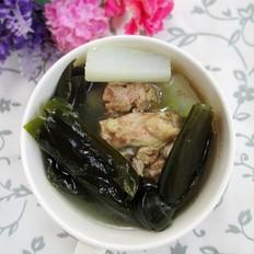 白萝卜海带煲排骨汤
