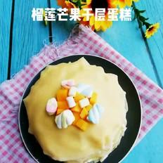榴莲芒果千层蛋糕