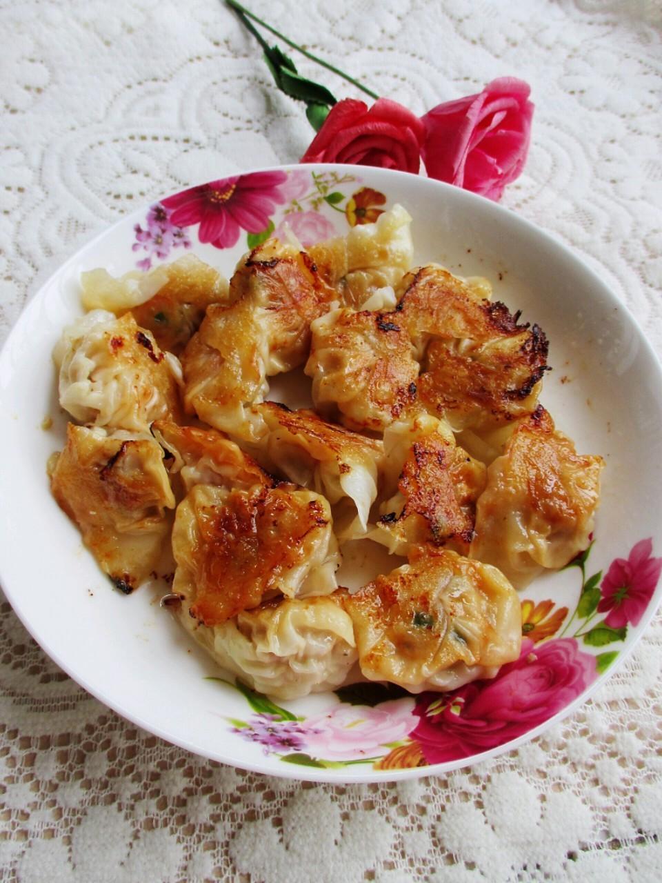 香煎鲜虾猪肉馄饨