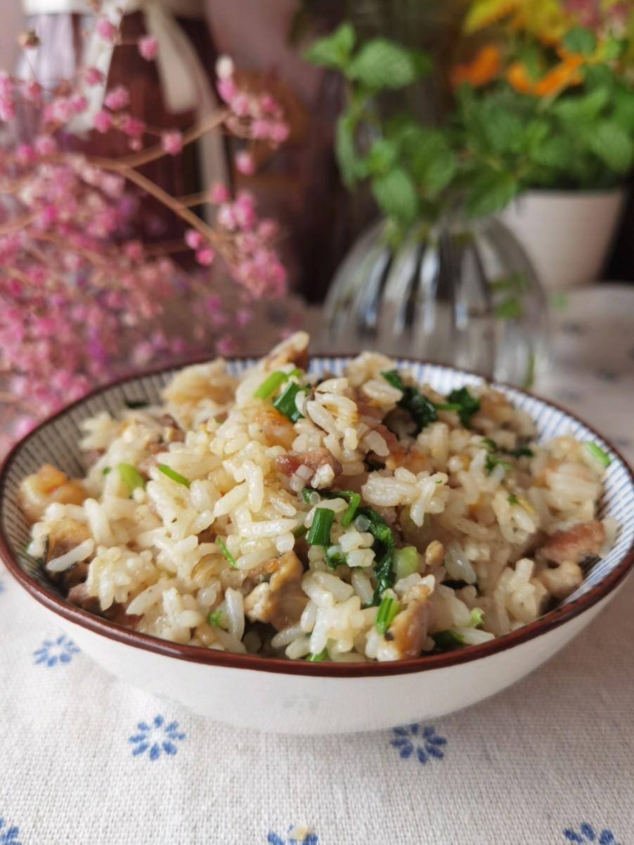 鲜虾生蚝炒饭