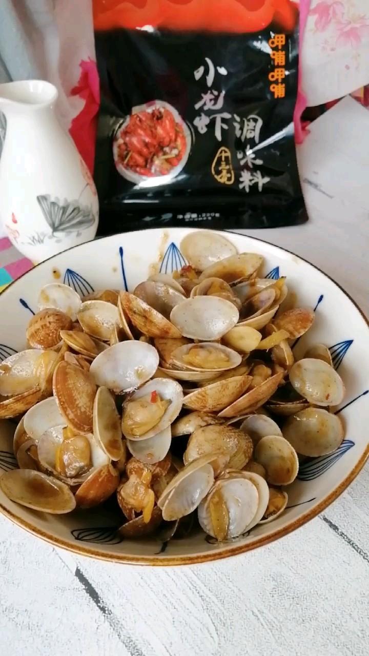 香辣炒蛤蜊