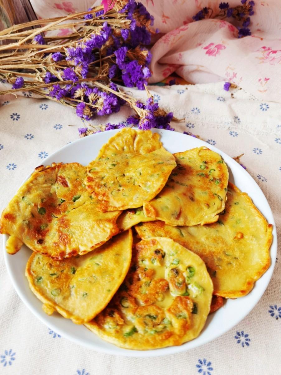 豆角燕麦煎饼的做法