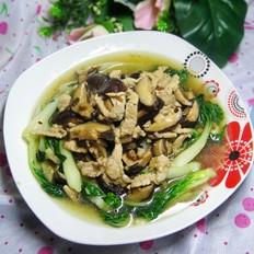 蚝油香菇小白菜