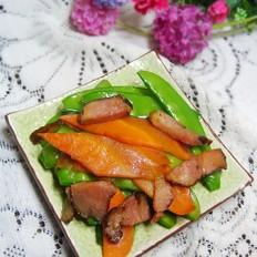 腊肉小炒荷兰豆