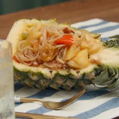 菠萝炒螺蛳粉(只需5步)