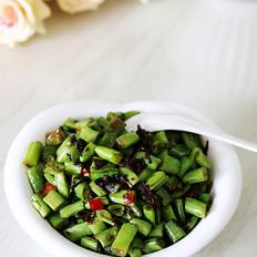 浓郁甘香橄榄菜炒四季豆