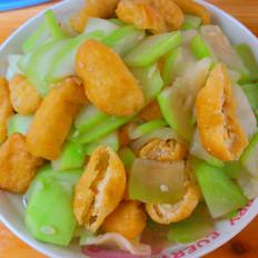 蒲瓜烧油豆腐