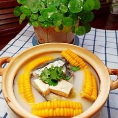 鱼头豆腐嫩玉米