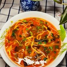 番茄扇贝汤
