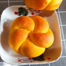 南瓜花朵汉堡