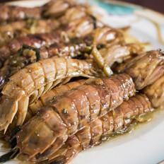 葱爆皮皮虾(濑尿虾)