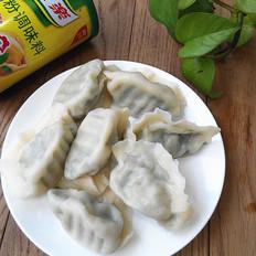 扇贝猪肉韭菜饺子