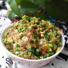 猪肉白菜韭菜饺子馅
