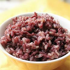 糙米黑米饭