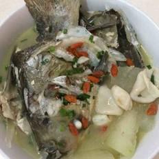 鱼膘头尾冬瓜汤