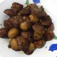 肉丸烧小土豆