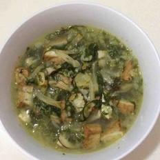 营养小白菜汤