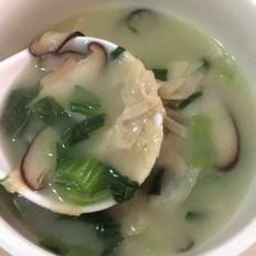 香菇青菜豆腐皮汤