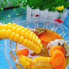 玉米排骨酸汤的做法