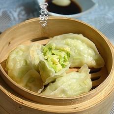 黄瓜虾皮蒸饺