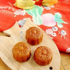 红莲蓉月饼