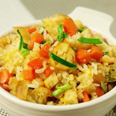 鸡蛋炒油条米饭