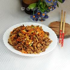 简单又下饭的炒肉榨菜