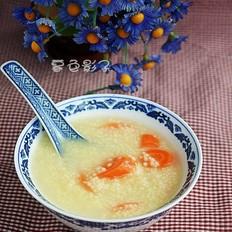 胡萝卜小米粥的做法