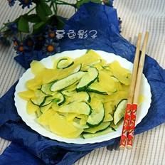 炒黄瓜土豆片