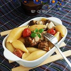 牛软肋排炖意大利粉的做法大全