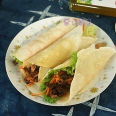 香菇酱卷春饼