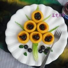 黄金碗蓝莓酱