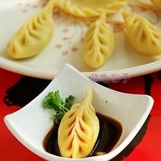 玉米面麦穗饺子