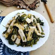 雪菜炖豆腐