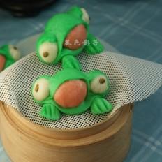 卡通青蛙馒头