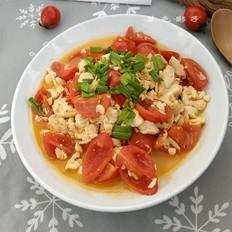西红柿虾皮豆腐