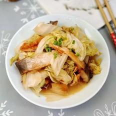 【百财有余】白菜炖鱼