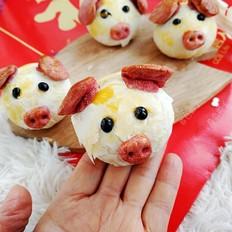 【猪福到了】蛋黄酥小猪送祝福