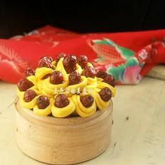 【步步高】南瓜红枣糕