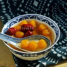 芋圆红枣糖水